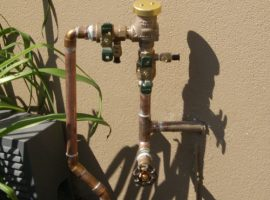 Outdoor Shutoff Valve